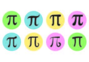 Pi Symbol Vektorer