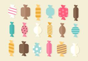 Freie süße Süßigkeit Vektor