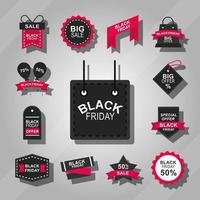 Black Friday Sale Icon Sammlung