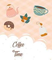 dryckesammansättning för kaffe och te