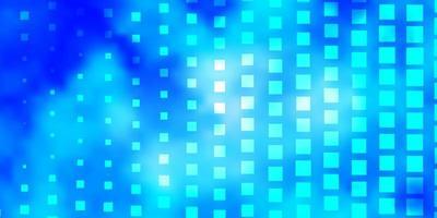 blaues Muster im quadratischen Stil.