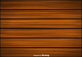 Träplankor Vector Bakgrund
