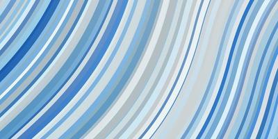 blaue Textur mit gebogenen Linien. vektor