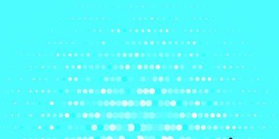 blått mönster med sfärer.