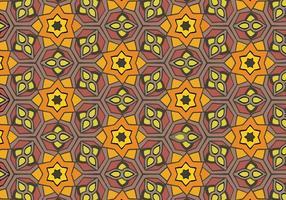 Freier Islamischer Ornament-Muster-Vektor vektor