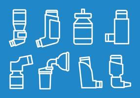 Gratis Astma ikoner Vector