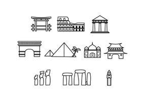 Freie Zeichen-Symbol Vektor