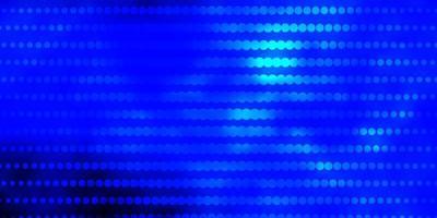 blå konsistens med cirklar.