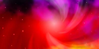röd och gul konsistens med vackra stjärnor. vektor