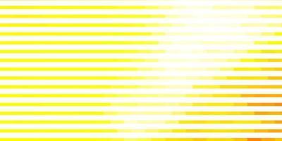 gelbes Layout mit Linien. vektor