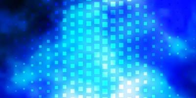 blå mall med rektanglar.