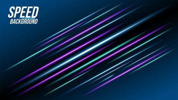abstrakter Technologiehintergrund mit blauen und lila Elementen
