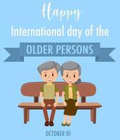de äldre personernas internationella dag