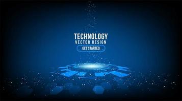 abstrakter technologischer Hintergrund, Hi-Tech-Kommunikation
