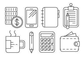 Free Business und Büro-Ikonen vektor