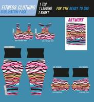 fitnessbyxor, topp och shorts