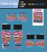 Fitnesshose, Top und Shorts