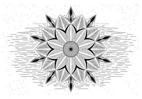 Freier Mandala Vector Illustration