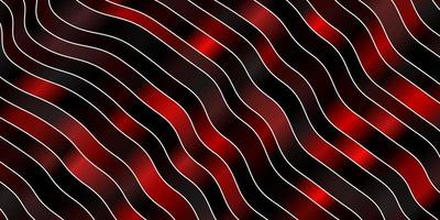 dunkelrotes Muster mit Kurven.