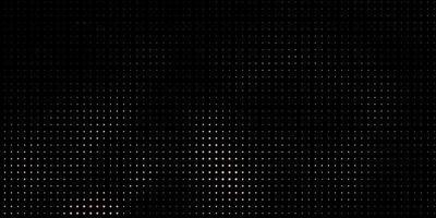 svart bakgrund med gula prickar.