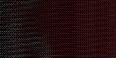 mörk röd bakgrund med plana linjer. vektor