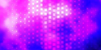 lila Muster im quadratischen Stil. vektor