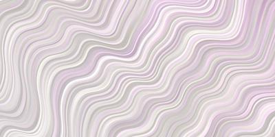 hellrosa Layout mit Wellen vektor