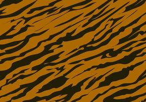 Tiger-Streifen-Muster-Hintergrund vektor