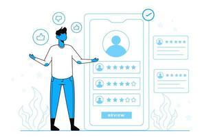 Online-Überprüfungskonzept für Zielseitenvorlage