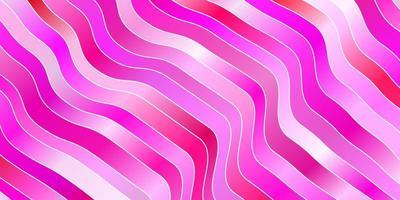 hellrosa Textur mit Kurven. vektor