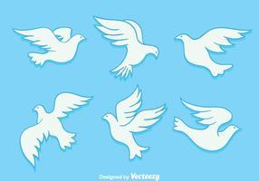 Hand gezeichnet Pigeon Vektoren