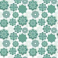 festival grafik av islamisk geometrisk konst vektor
