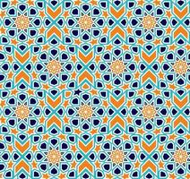 nahtloses islamisches Muster. vektor