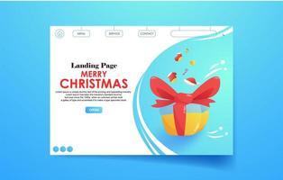 målsida mall för god jul