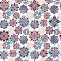 sömlösa mönster av eid mubarak celebratio vektor