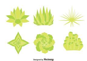 Green House växt vektorer