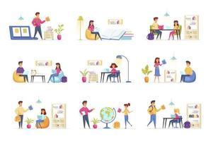 Bildungsszenen bündeln sich mit Personencharakteren