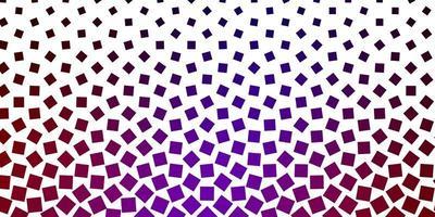 dunkelrotes und lila Layout mit Quadraten.