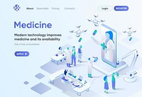 modern medicin, isometrisk målsida