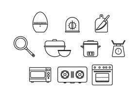Fri matlagning Ikon Vector