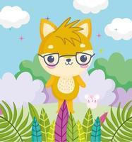 süße Cartoon kleine Tiere