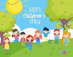 fröhliche Kindertagsfeier