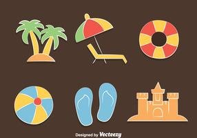 Beach Element Vector