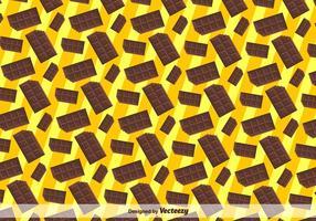 Bunt Flach Chocolate Bar Icon Seamless Pattern