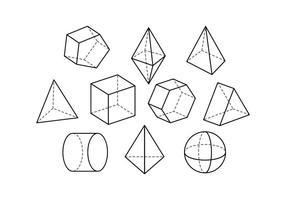 Freies Geometrische Form Vektor
