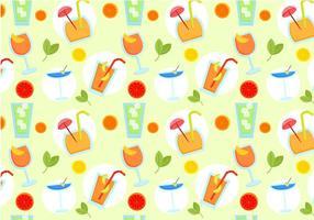 Freie Getränke Muster Vektoren
