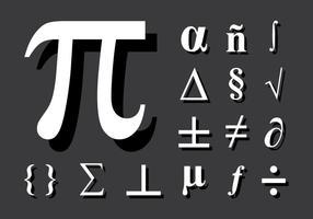 Math Symbol vektor