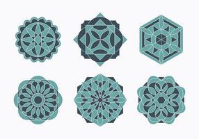 Islamic prydnader som vektor