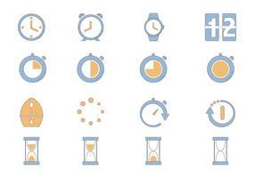 Timer-Symbol Vektor-Pack