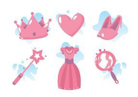 Princesa machen Vektor